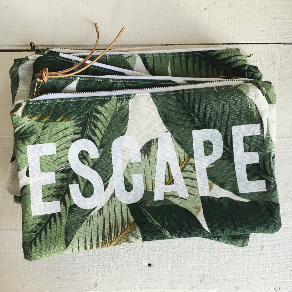 ESCAPE Travel Clutch - Easy Palm Sample
