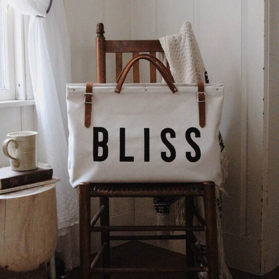 BLISS Canvas Utility Bag - Second