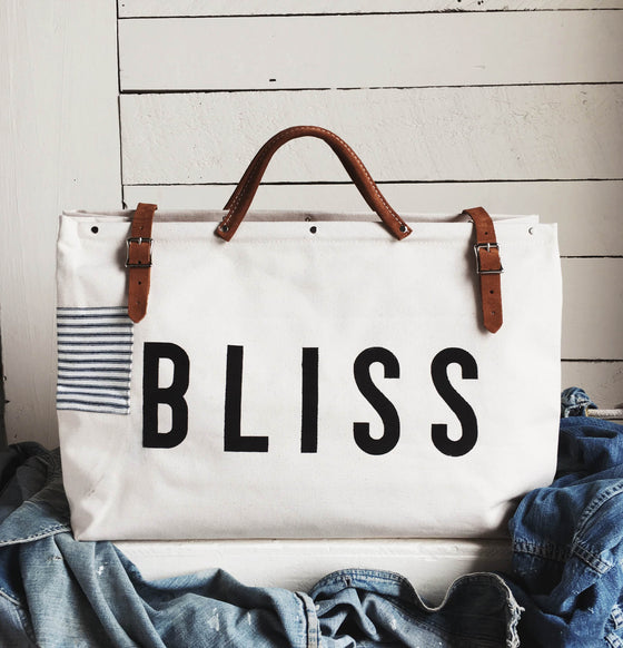 BLISS Canvas Utility Bag - Patch Second