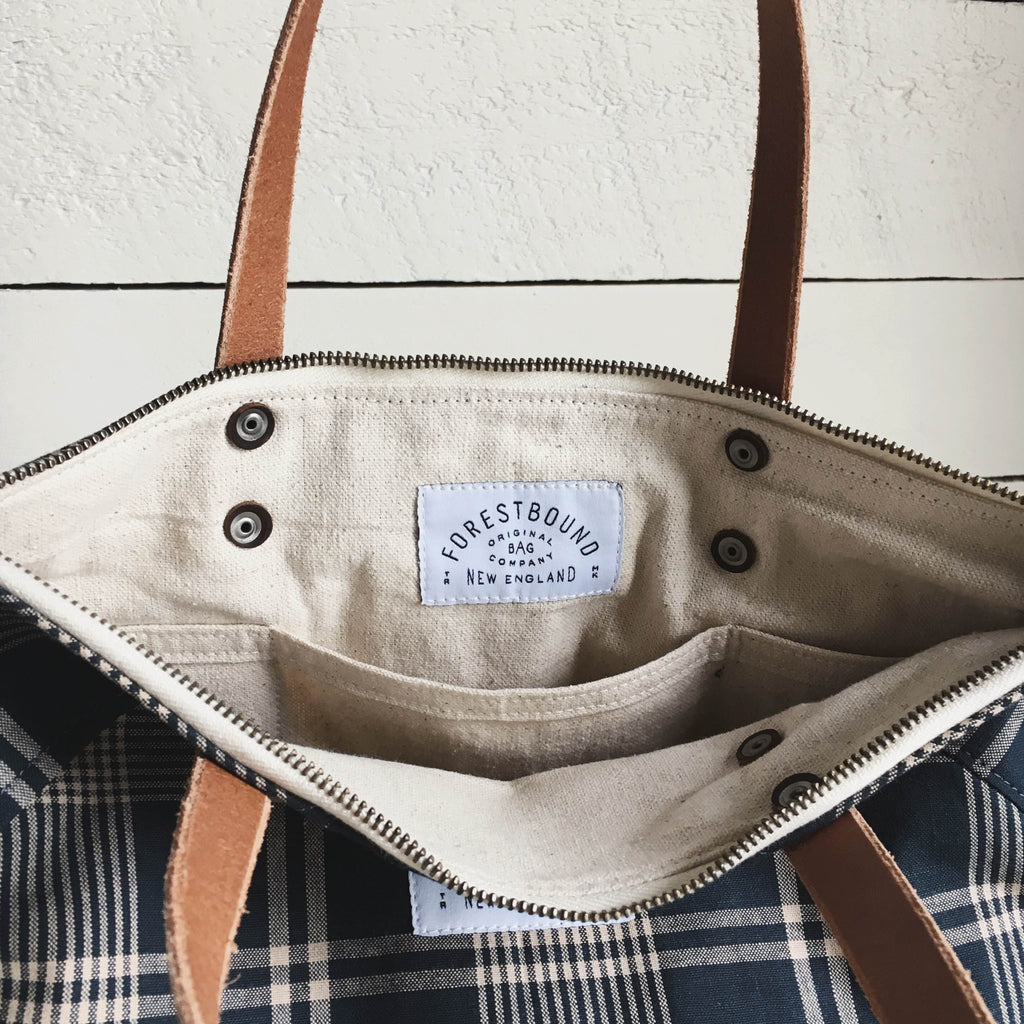 1950's era Deadstock Cotton Carryall