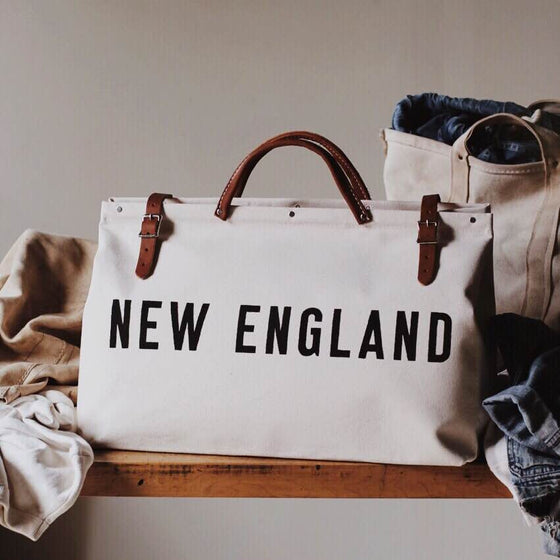 NEW ENGLAND Canvas Utility Bag - Second