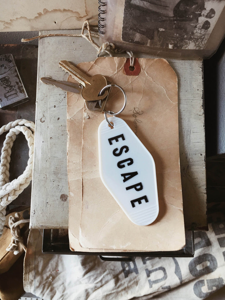 ESCAPE Key Tag