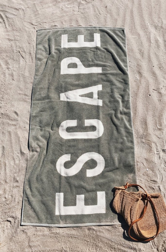 ESCAPE Towel in Sage