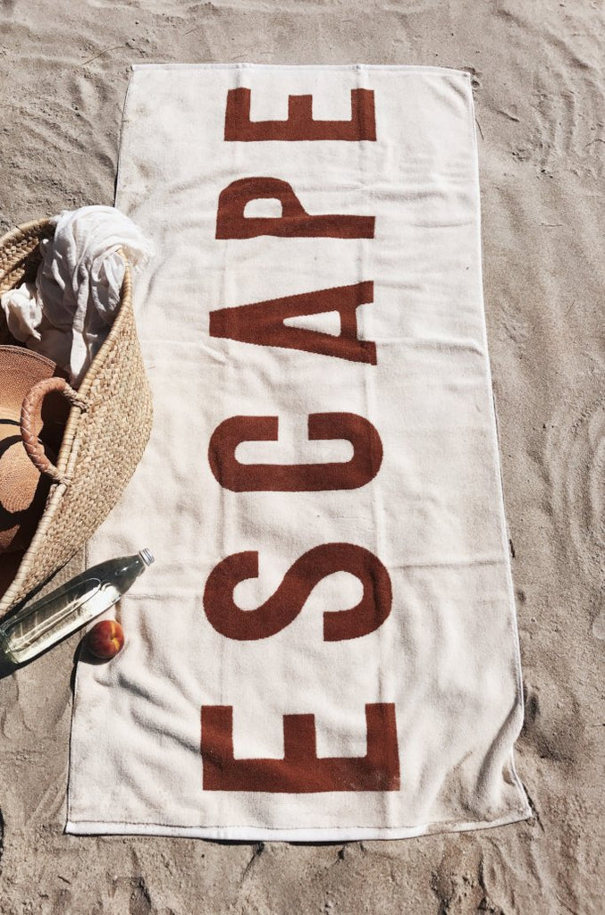 ESCAPE Towel in Copper