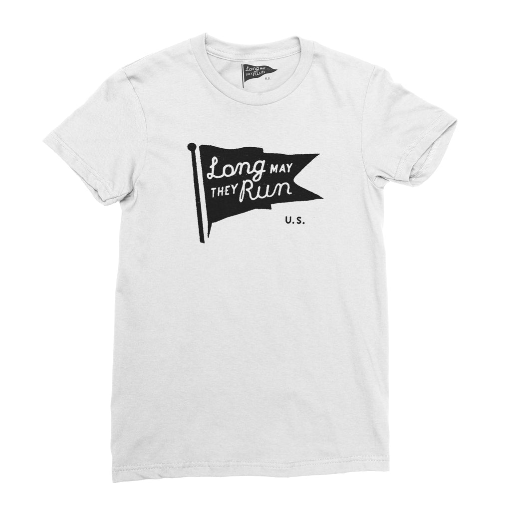 Long May They Run Pennant Women's Tee