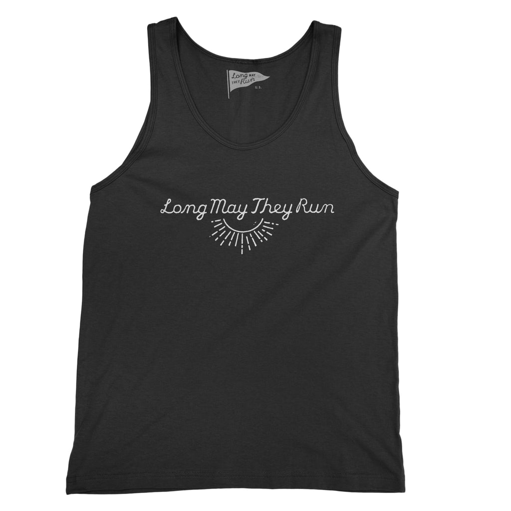 Long May They Run Unisex Sunburst Tank