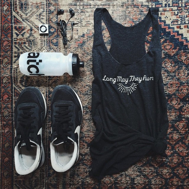 Long May They Run Women's Sunburst Tank
