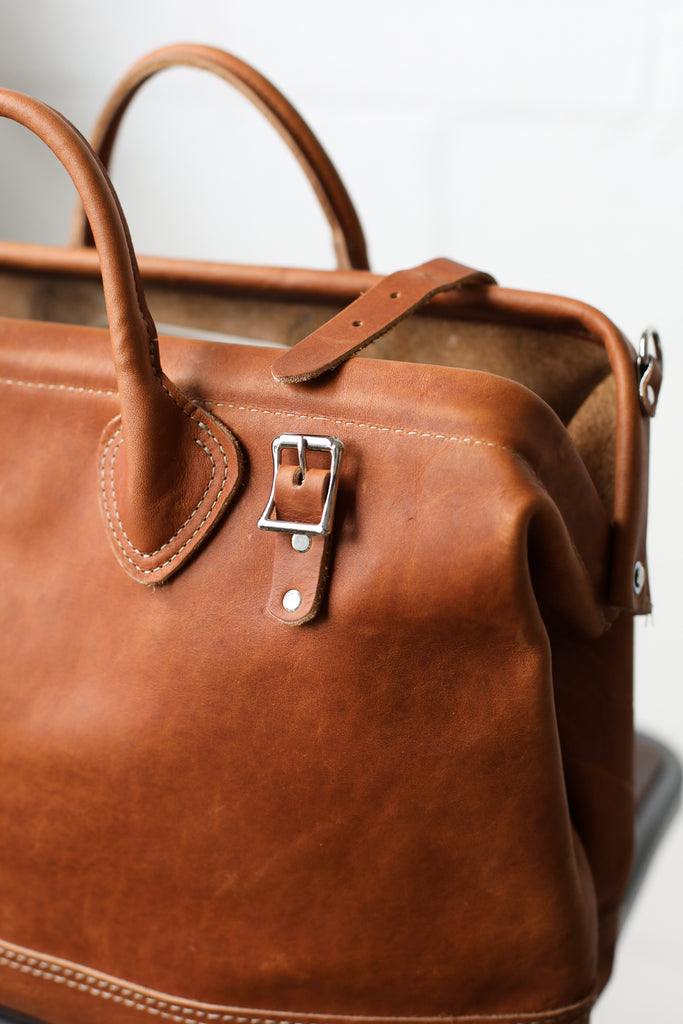 Leather Mason Bag