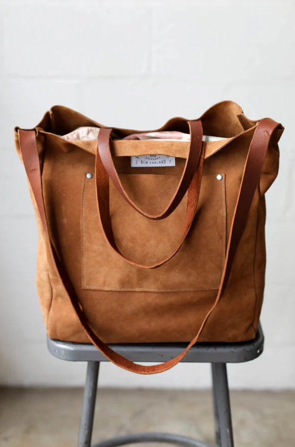 Leather Tote Bag No. 3
