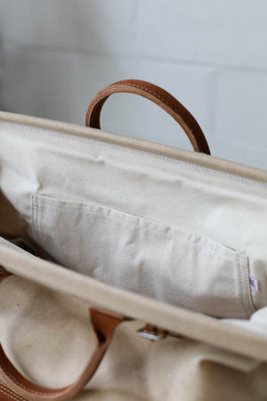 Waxed Canvas Carryall