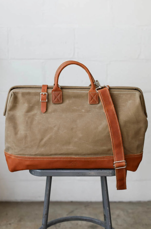 Waxed Canvas Carryall No. 2