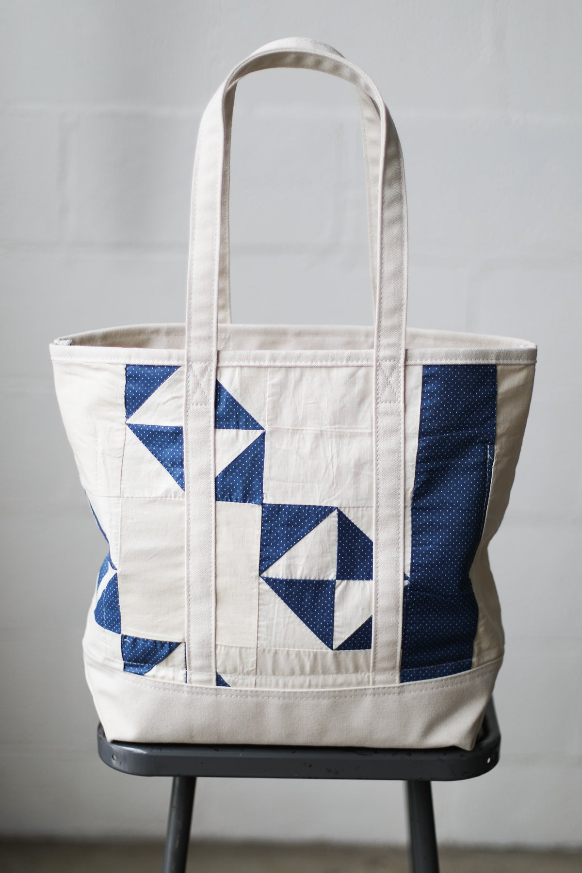 Reclaimed Market Tote No. 066