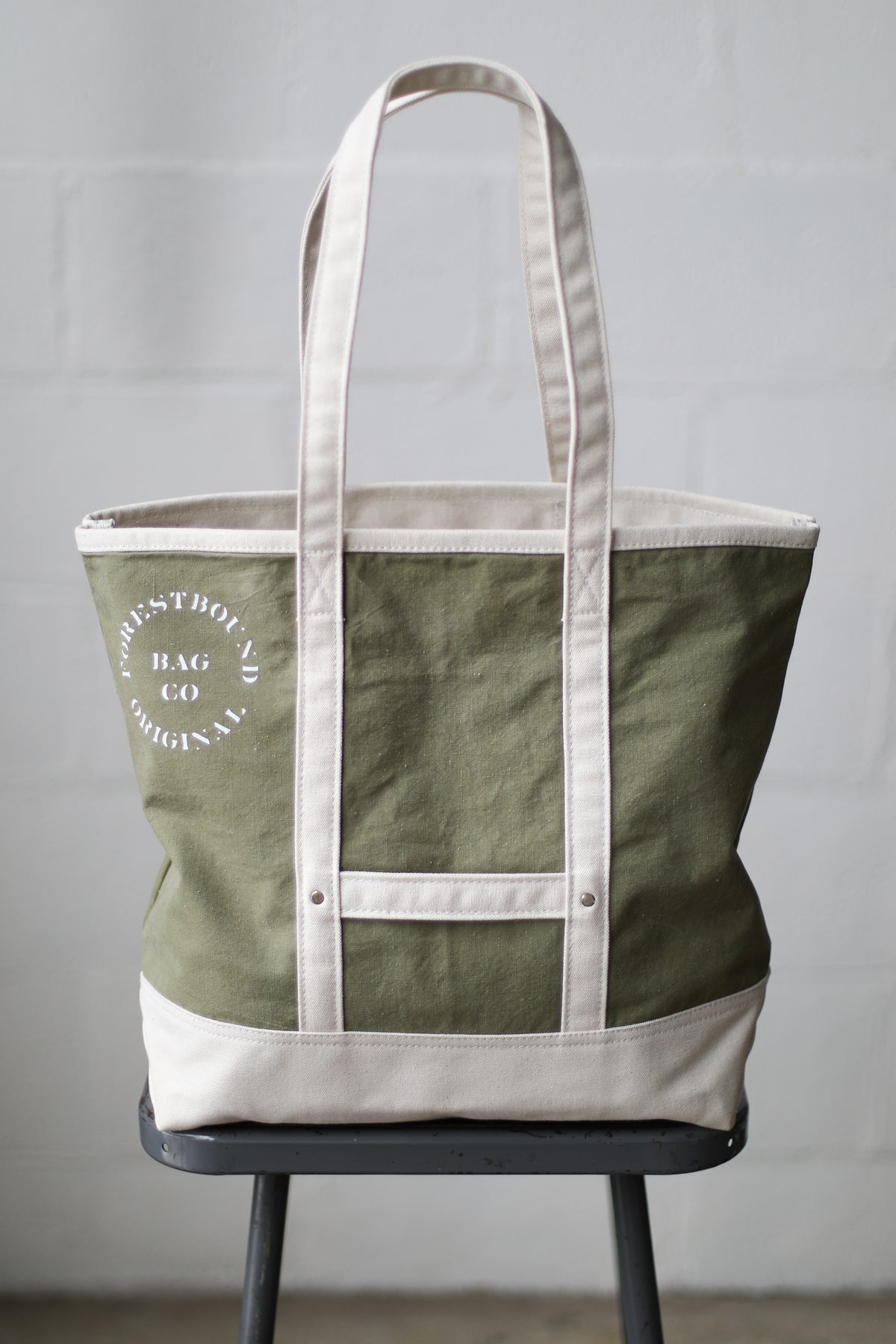 Reclaimed Market Tote No. 068