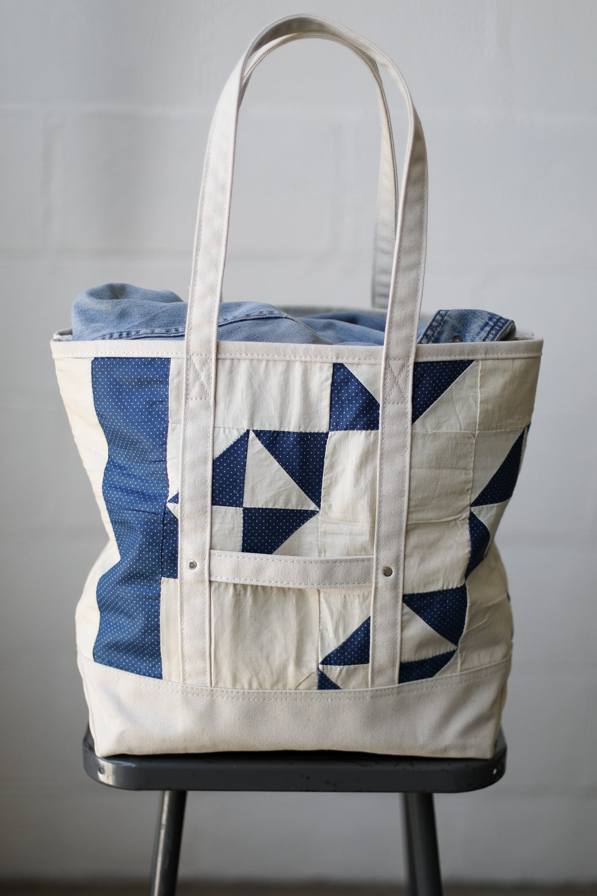 Reclaimed Market Tote No. 047