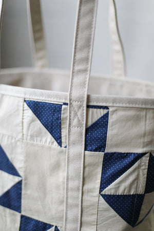 Reclaimed Market Tote No. 057