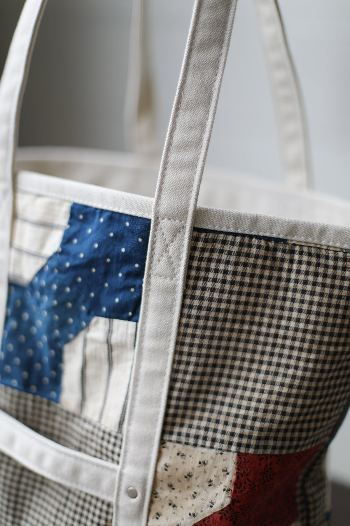 Reclaimed Market Tote No. 062
