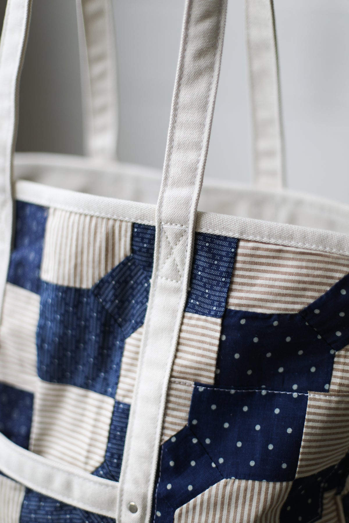Reclaimed Market Tote No. 063