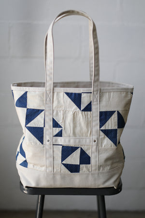 Reclaimed Market Tote No. 048