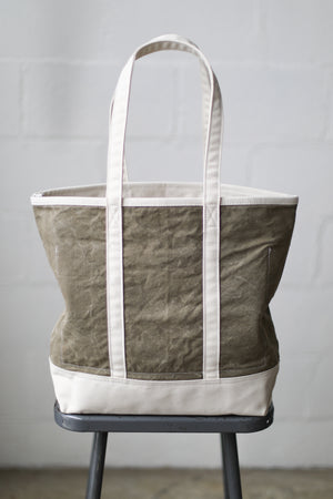 Reclaimed Market Tote No. 064