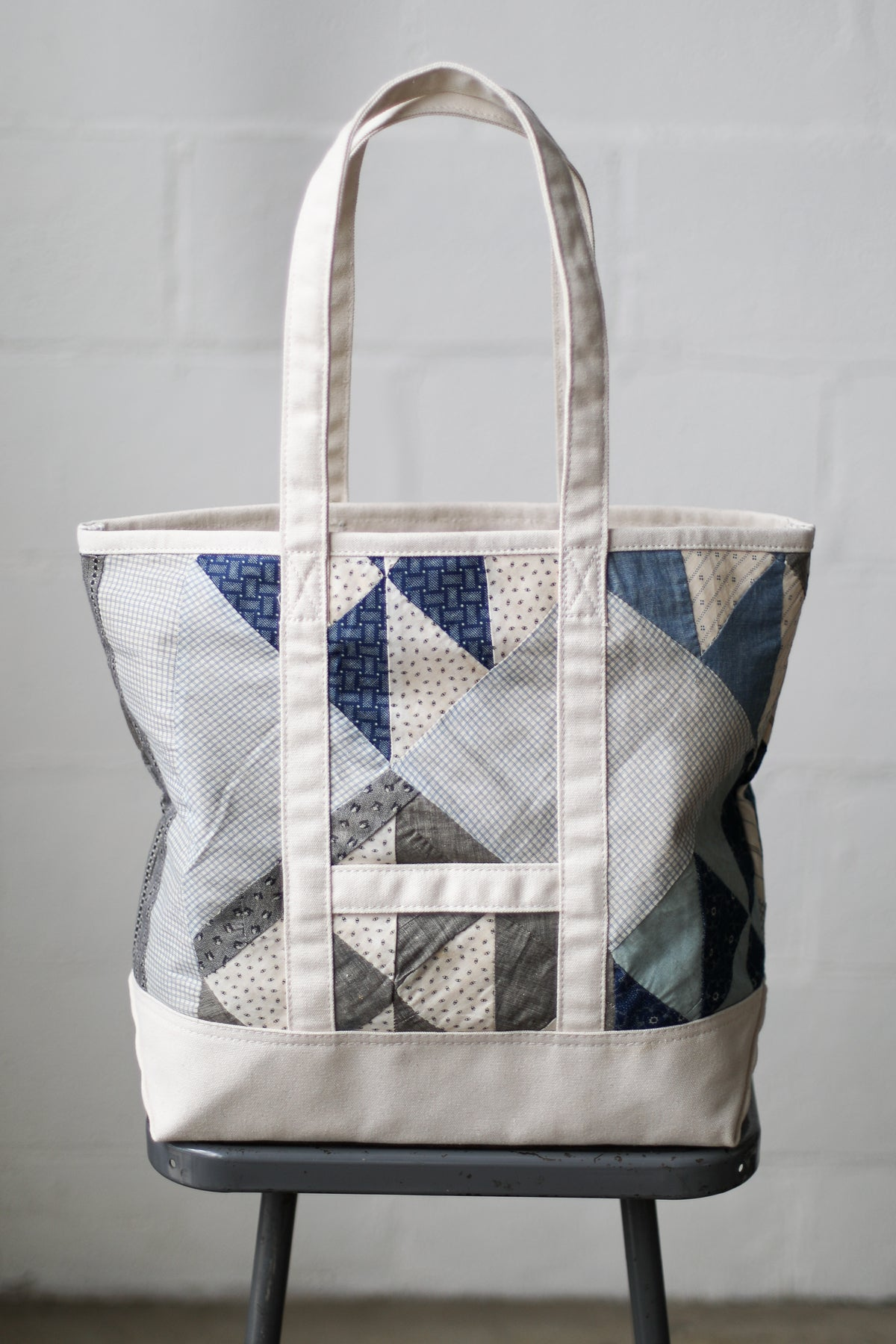 Reclaimed Market Tote No. 027