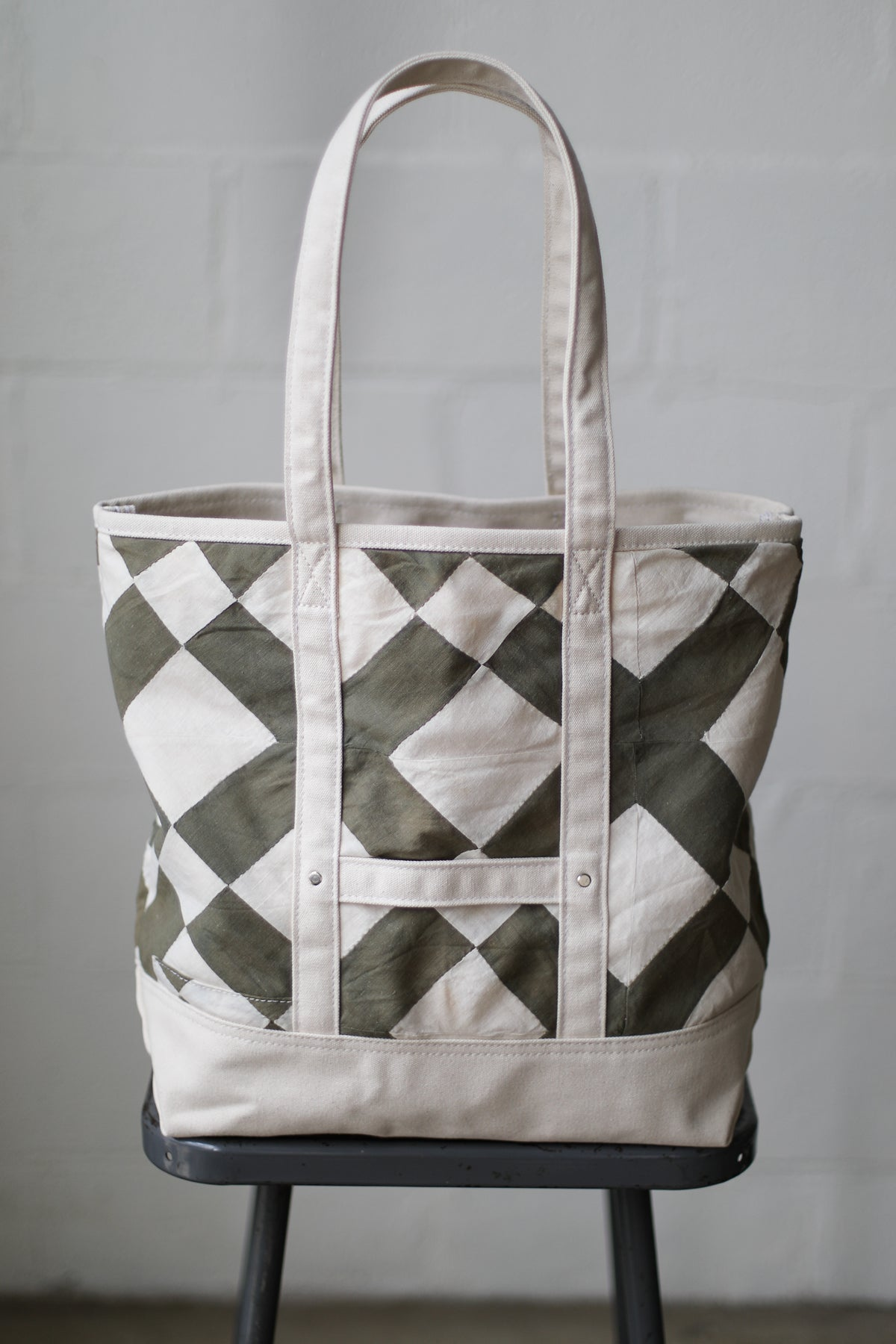 Reclaimed Market Tote No. 001