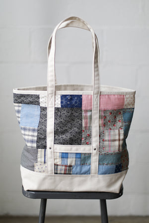 Reclaimed Market Tote No. 032
