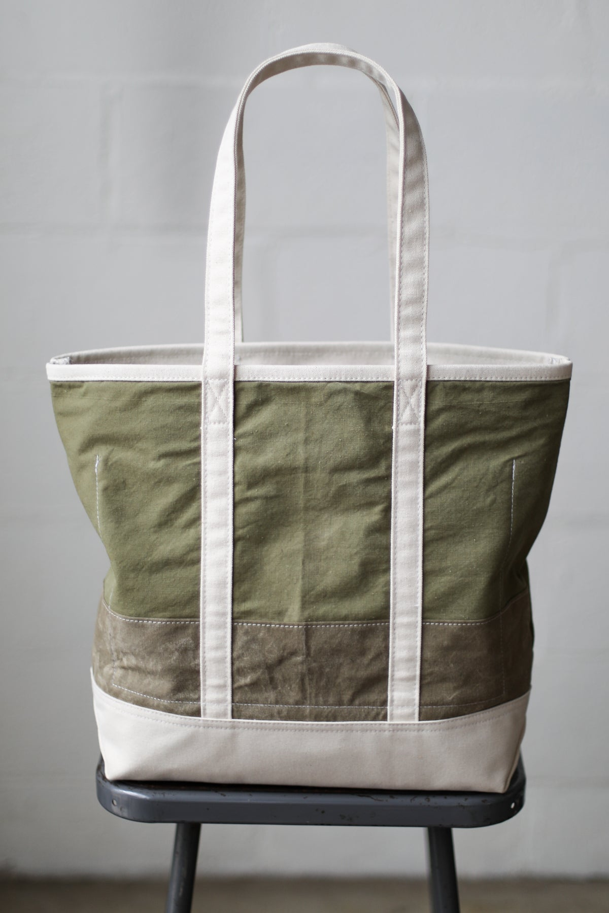 Reclaimed Market Tote No. 036