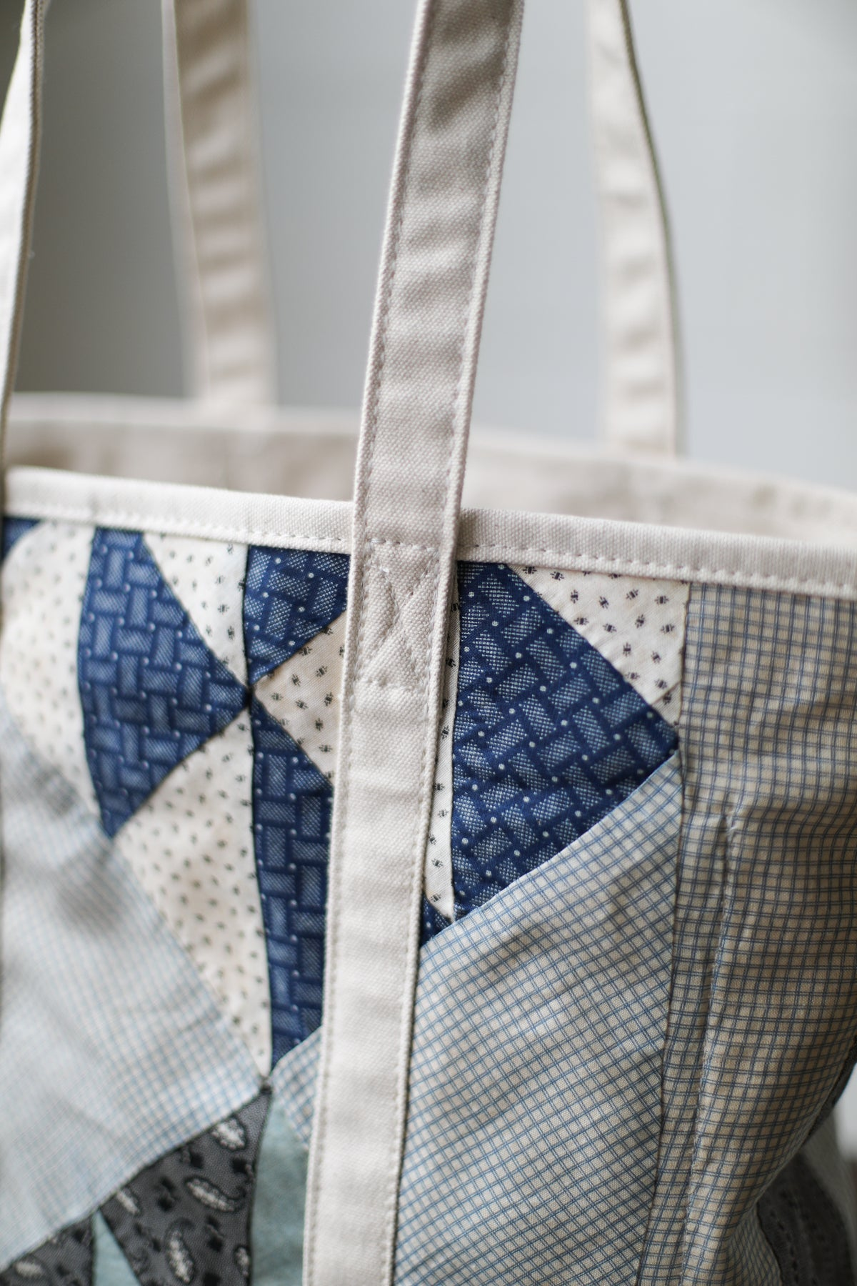 Reclaimed Market Tote No. 008