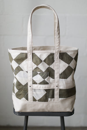 Reclaimed Market Tote No. 004