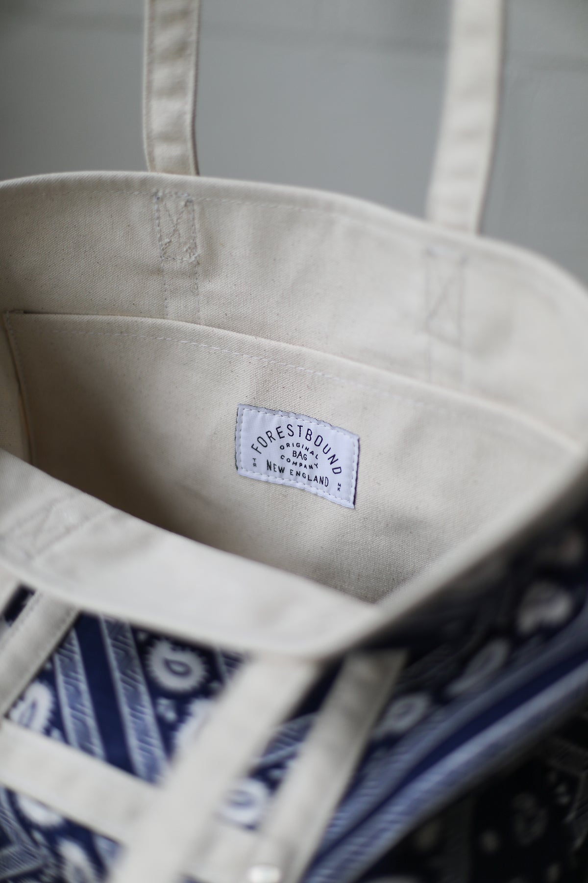 Reclaimed Market Tote No. 011