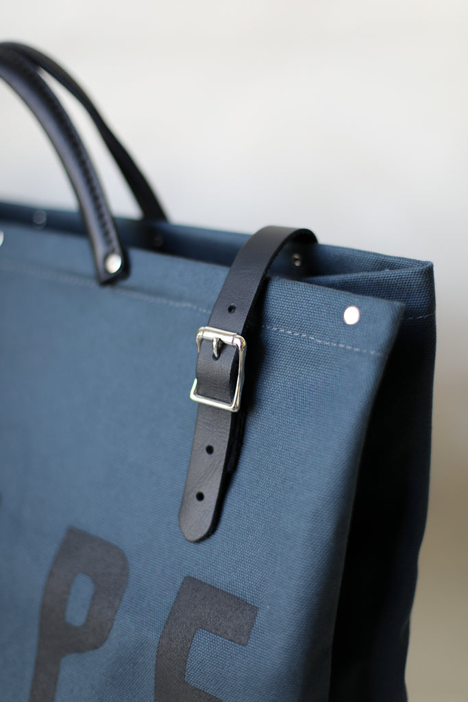 LIMITED EDITION - Forestbound ESCAPE Canvas Utility Bag in Midnight