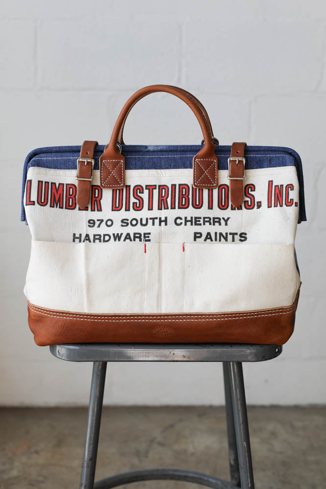1940's era Denim & Lumber Apron Carryall