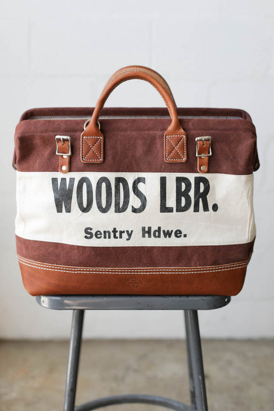 1950's era Canvas & Lumber Apron Carryall