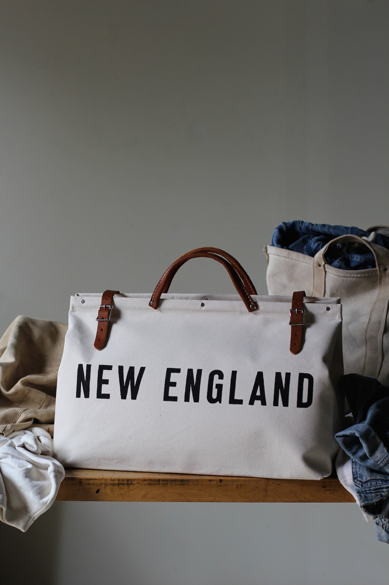 NEW ENGLAND Canvas Utility Bag