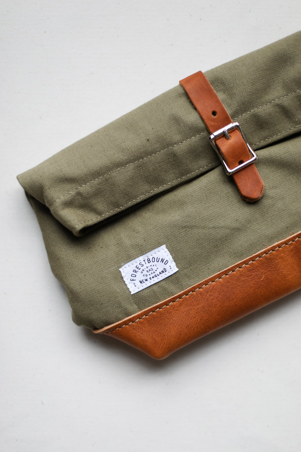 Roll Top Dopp Kit - Salvaged Olive