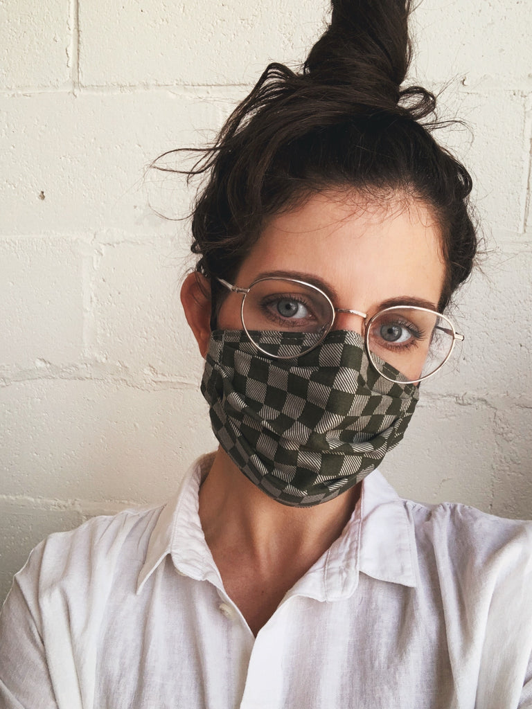 Fabric Face Mask - Olive