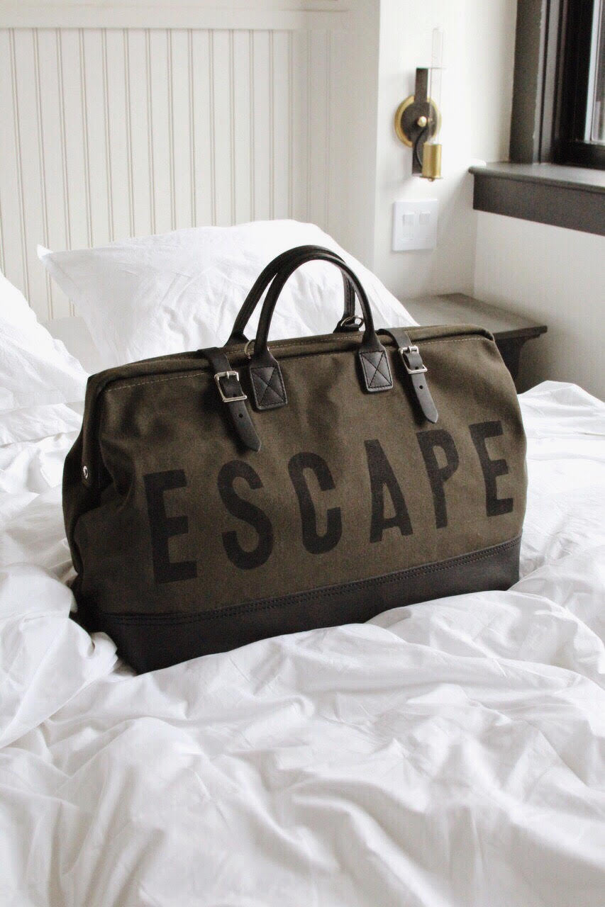 Forestbound ESCAPE Traveler in Olive