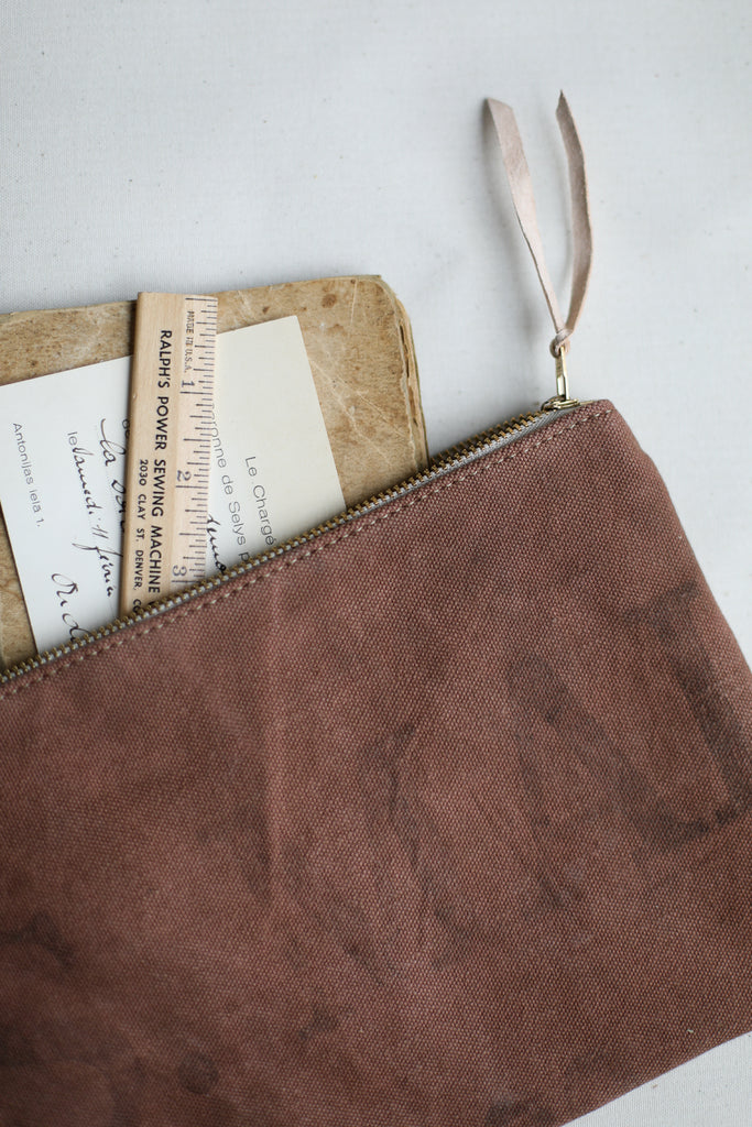 1950's era Salvaged US Mail Bag Canvas Utility Pouch