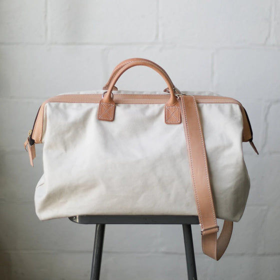 Zip-Top Canvas Traveler
