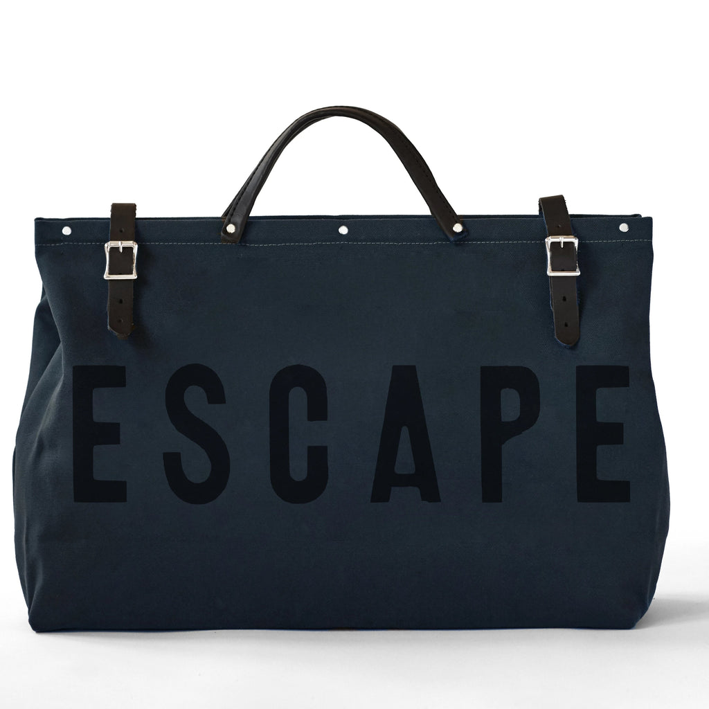 ESCAPE Canvas Bag in Midnight - Second