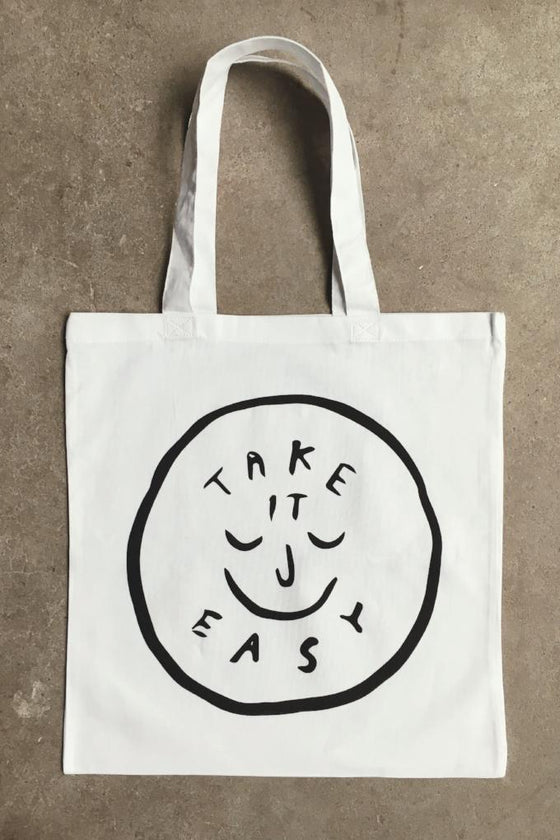 Take it Easy Cotton Tote
