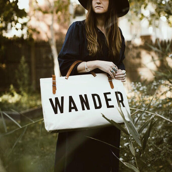 WANDER Canvas Utility Bag - Second