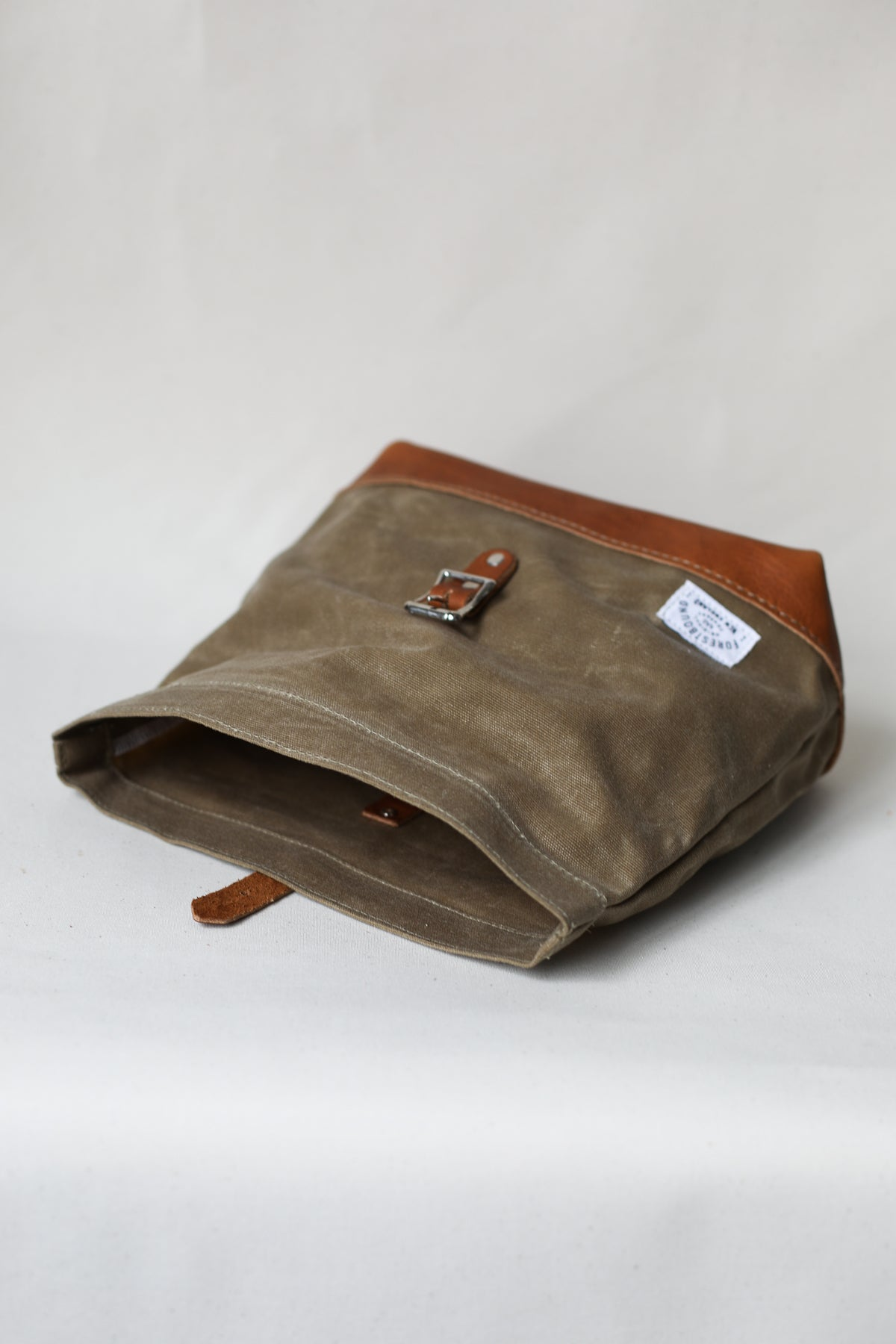 Roll Top Dopp Kit - Waxed Canvas