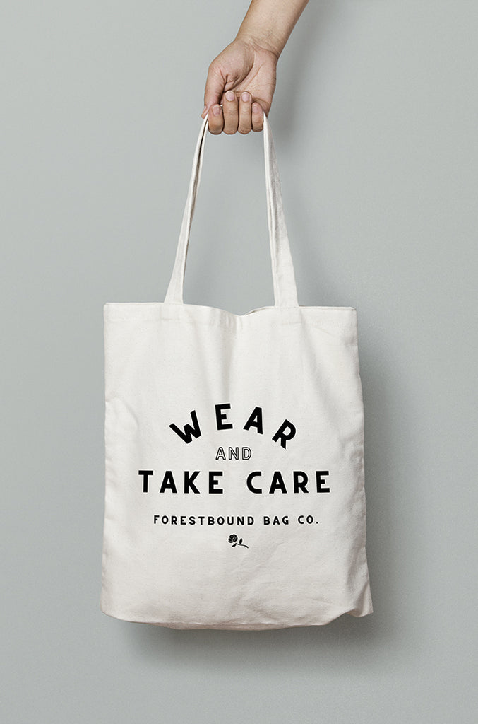 Wear & Take Care Cotton Tote