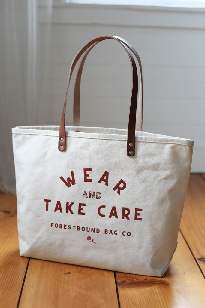 $50 Tote Bag Special / Wear & Take Care
