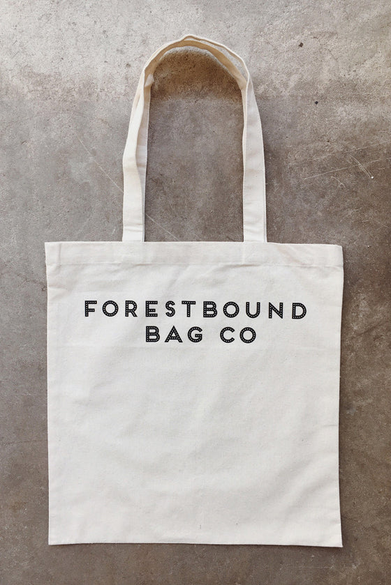 FORESTBOUND Bag Co. Cotton Tote