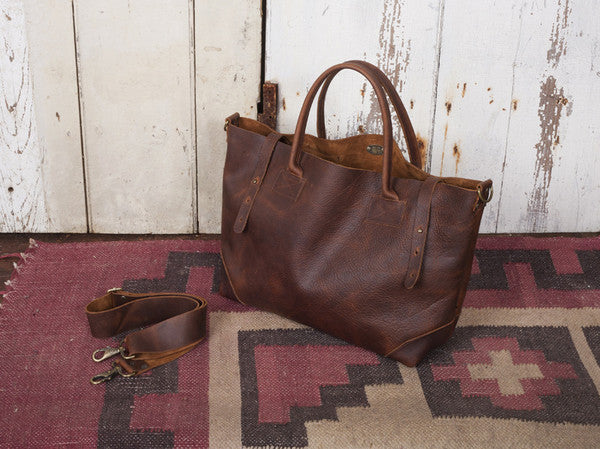Ashcroft Leather Carryall