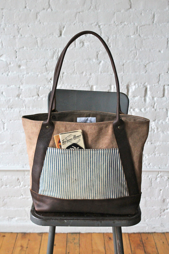 1930s era Canvas & Work Apron Carryall