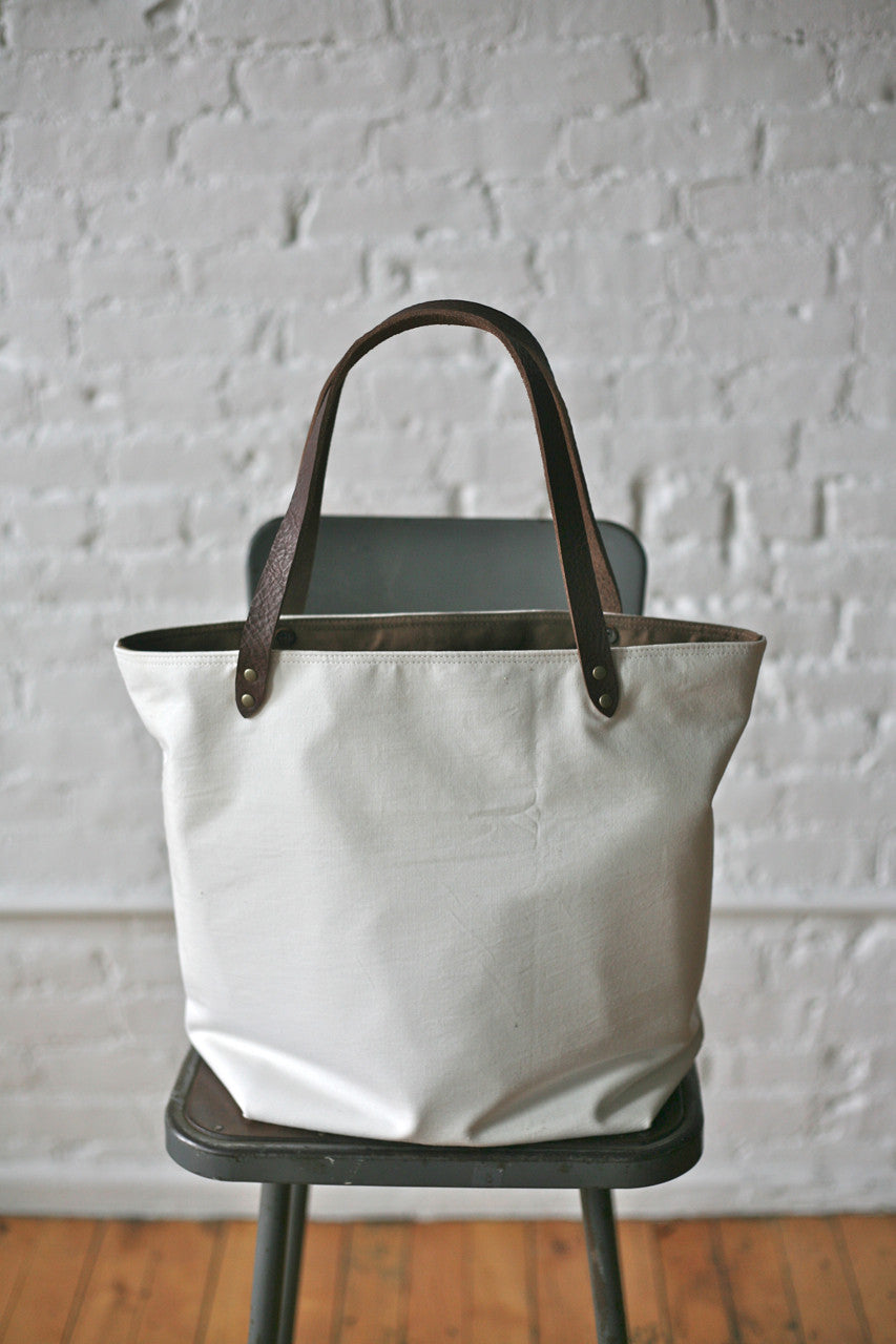 WWII era Cotton & Denim Tote Bag