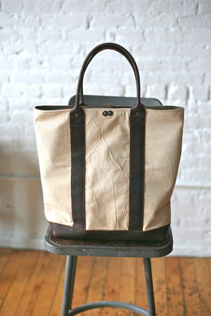 1940's era Feedsack Carryall